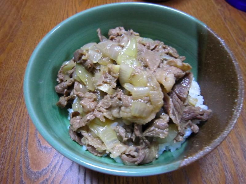 ほぼ吉野家の牛丼なレシピを試してみた