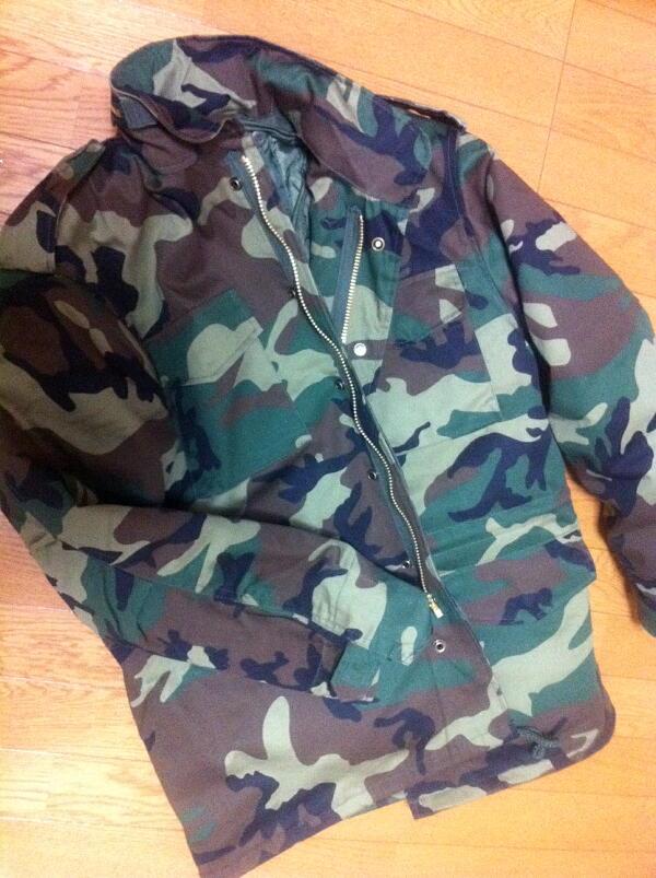 M65フィールドジャケットを購入