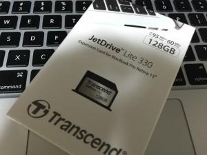 Transcend JetDrive Lite 330外箱