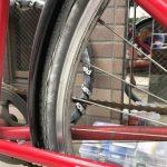 自転車のタイヤを交換しました